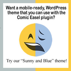 Download Sunny and Blue WordPress theme!